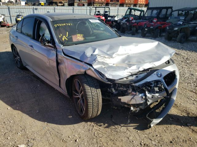 BMW salvage cars for sale: 2015 BMW 335 I