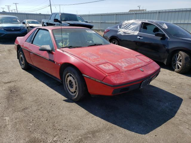 Pontiac Vehiculos salvage en venta: 1986 Pontiac Fiero Sport