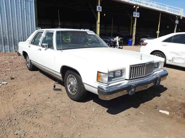 Mercury salvage cars for sale: 1987 Mercury Grand Marq
