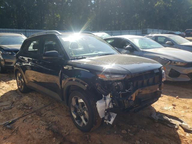 Salvage cars for sale from Copart Austell, GA: 2021 Hyundai Venue SEL