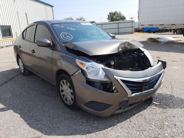 Salvage cars for sale at Tucson, AZ auction: 2016 Nissan Versa