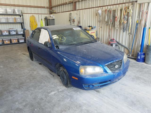 Salvage cars for sale from Copart Abilene, TX: 2004 Hyundai Elantra GL