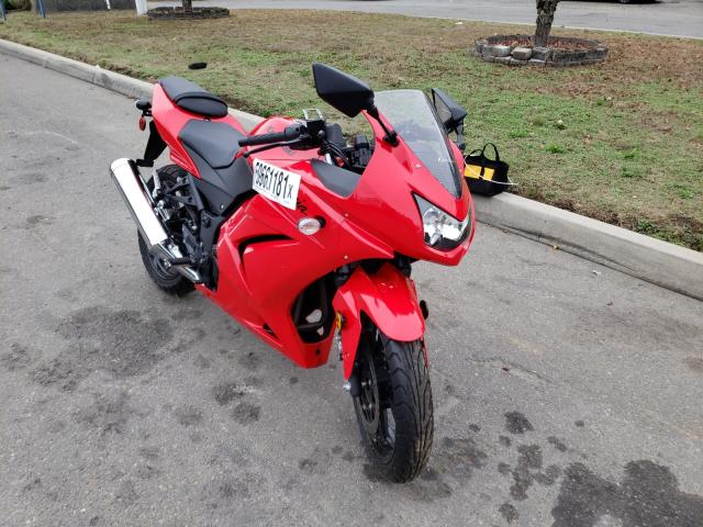 Kawasaki salvage cars for sale: 2008 Kawasaki EX250 J