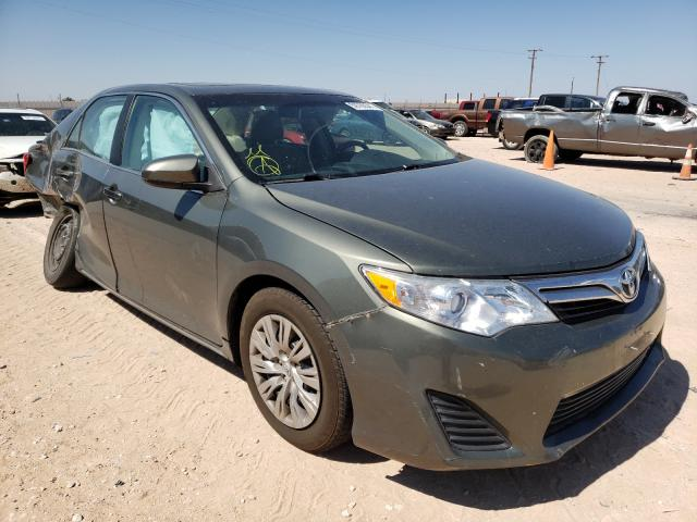 Salvage cars for sale from Copart Andrews, TX: 2012 Toyota Camry Base