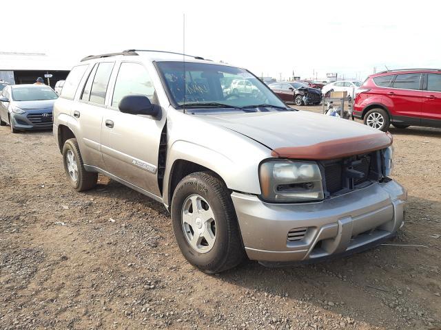 Salvage cars for sale from Copart Phoenix, AZ: 2002 Chevrolet Trailblazer