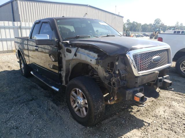 Salvage cars for sale from Copart Spartanburg, SC: 2006 Ford F150