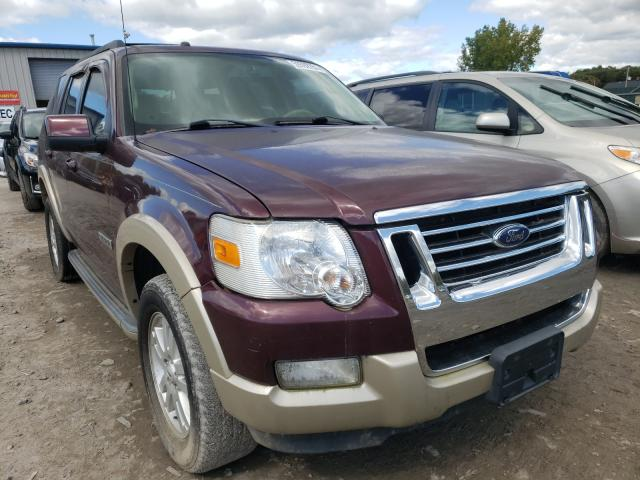 Salvage cars for sale from Copart Duryea, PA: 2008 Ford Explorer E