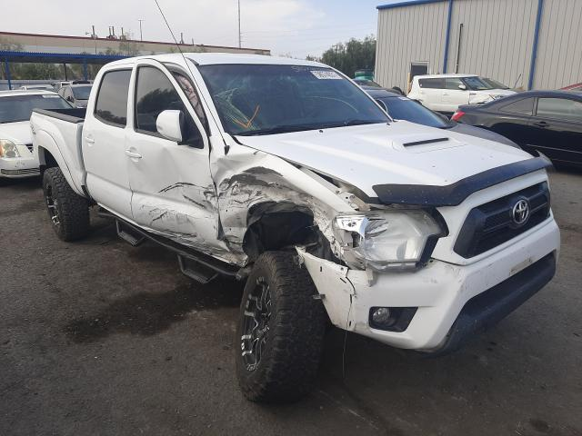 Salvage cars for sale from Copart Las Vegas, NV: 2012 Toyota Tacoma DOU