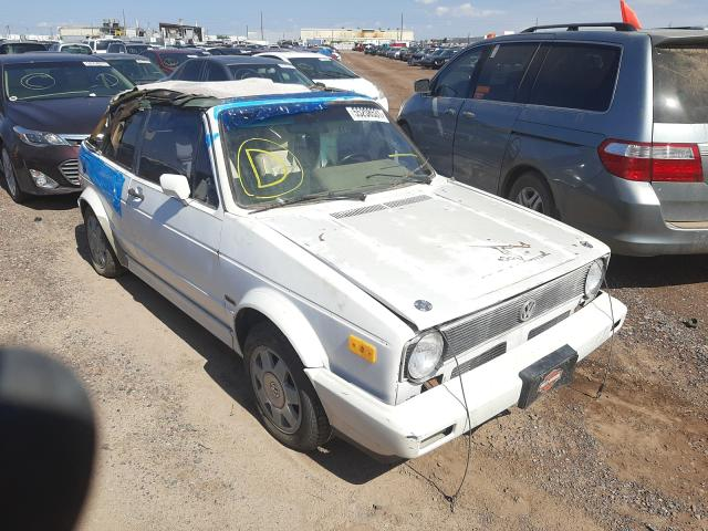 Salvage cars for sale from Copart Phoenix, AZ: 1988 Volkswagen Cabriolet