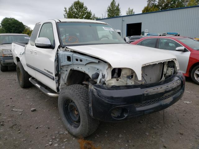 Salvage cars for sale from Copart Portland, OR: 2003 Toyota Tundra ACC