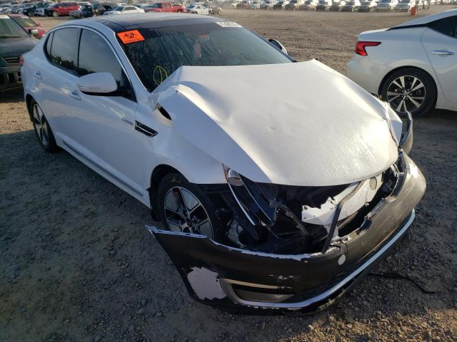 Salvage cars for sale at Conway, AR auction: 2013 KIA Optima Hybrid