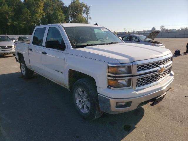 Salvage trucks for sale at Dunn, NC auction: 2014 Chevrolet Silverado