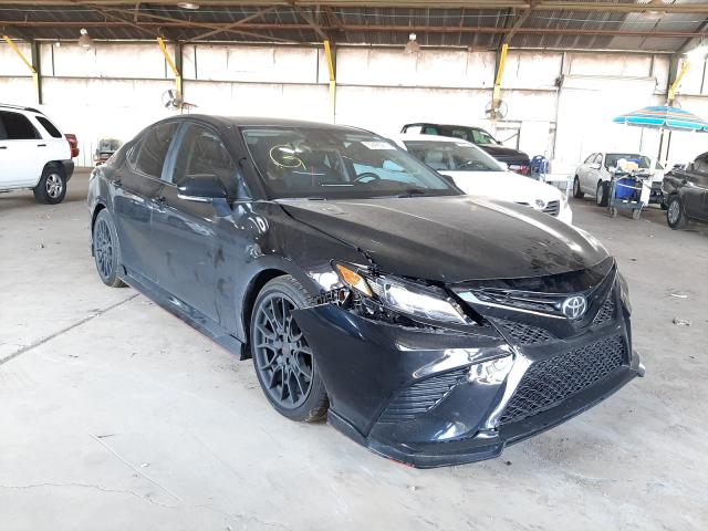 Salvage cars for sale at Phoenix, AZ auction: 2021 Toyota Camry TRD