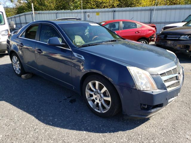 Salvage cars for sale from Copart Grantville, PA: 2009 Cadillac CTS