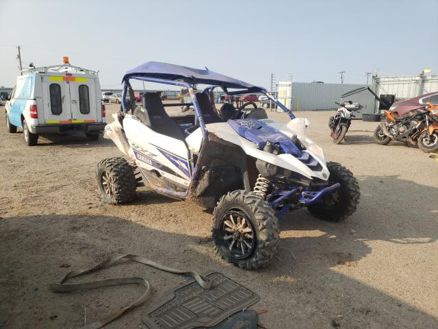 Salvage motorcycles for sale at Amarillo, TX auction: 2017 Yamaha YXZ1000 ET