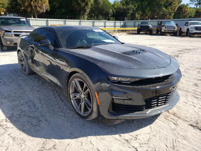 Salvage cars for sale from Copart Fort Pierce, FL: 2019 Chevrolet Camaro SS