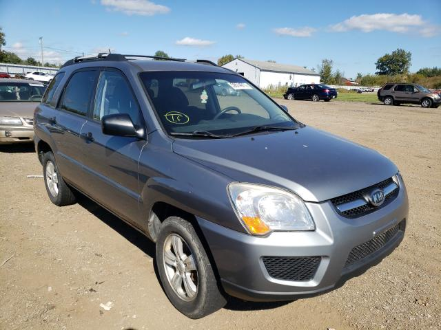 Salvage cars for sale at Columbia Station, OH auction: 2009 KIA Sportage L