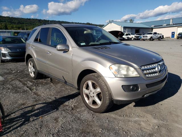 Salvage cars for sale from Copart Grantville, PA: 2008 Mercedes-Benz ML 350