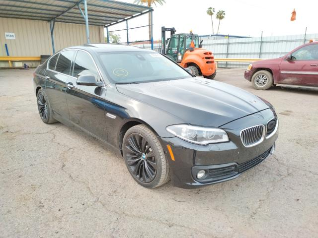 Salvage cars for sale from Copart Phoenix, AZ: 2015 BMW 535 I