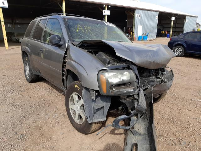Salvage cars for sale from Copart Phoenix, AZ: 2006 Chevrolet Trailblazer