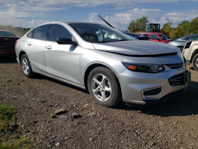 Salvage cars for sale at Columbia Station, OH auction: 2017 Chevrolet Malibu LS