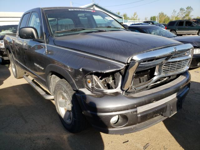 Salvage cars for sale from Copart Pekin, IL: 2002 Dodge RAM 1500