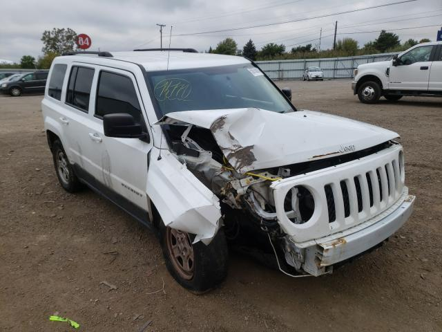 Salvage cars for sale at Columbia Station, OH auction: 2016 Jeep Patriot SP