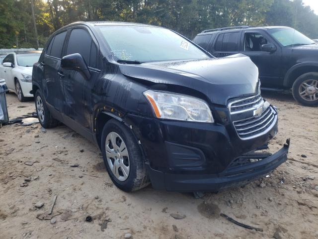 Salvage cars for sale from Copart Austell, GA: 2015 Chevrolet Trax LS