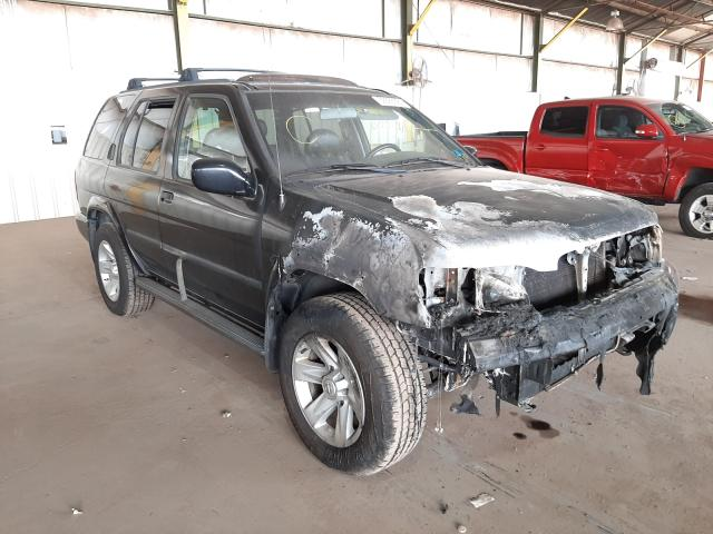 Salvage cars for sale from Copart Phoenix, AZ: 2002 Nissan Pathfinder