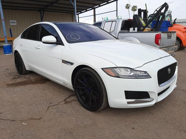 Salvage cars for sale from Copart Phoenix, AZ: 2017 Jaguar XF Premium