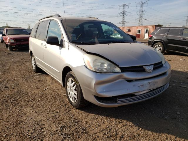 Toyota salvage cars for sale: 2005 Toyota Sienna CE
