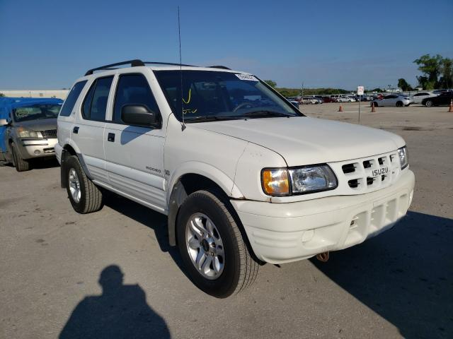 Isuzu salvage cars for sale: 2002 Isuzu Rodeo S