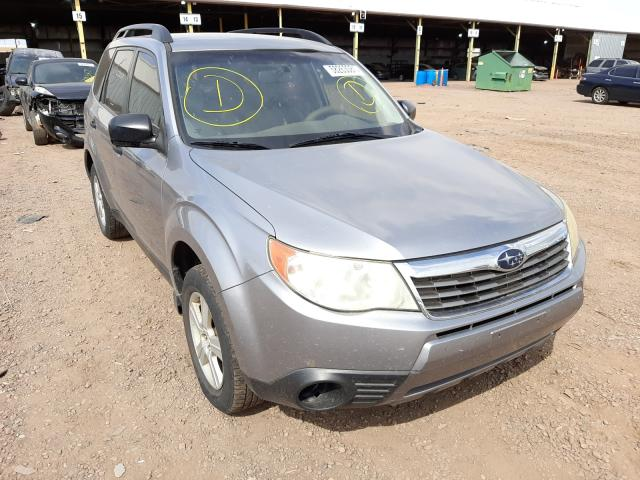 Salvage cars for sale from Copart Phoenix, AZ: 2010 Subaru Forester X