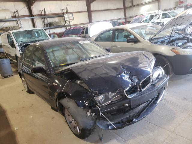 BMW salvage cars for sale: 2004 BMW 325 XI