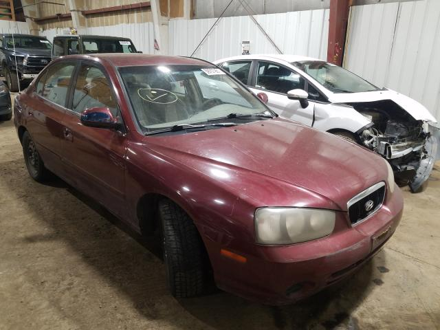 Salvage cars for sale from Copart Anchorage, AK: 2001 Hyundai Elantra GL