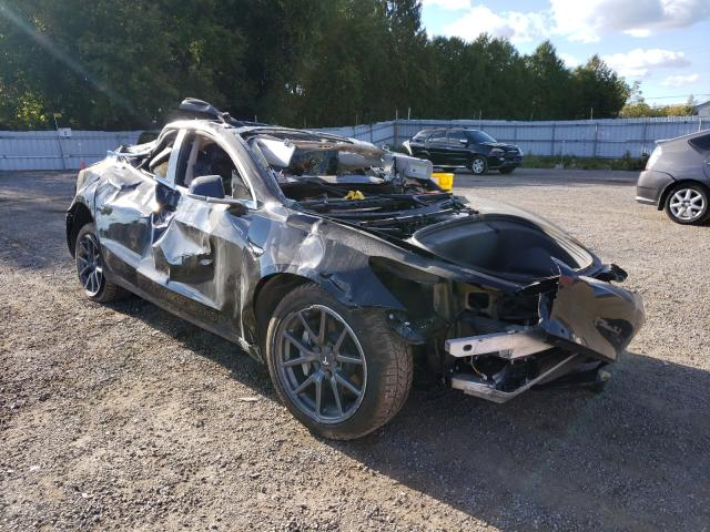 Salvage cars for sale from Copart London, ON: 2019 Tesla Model 3
