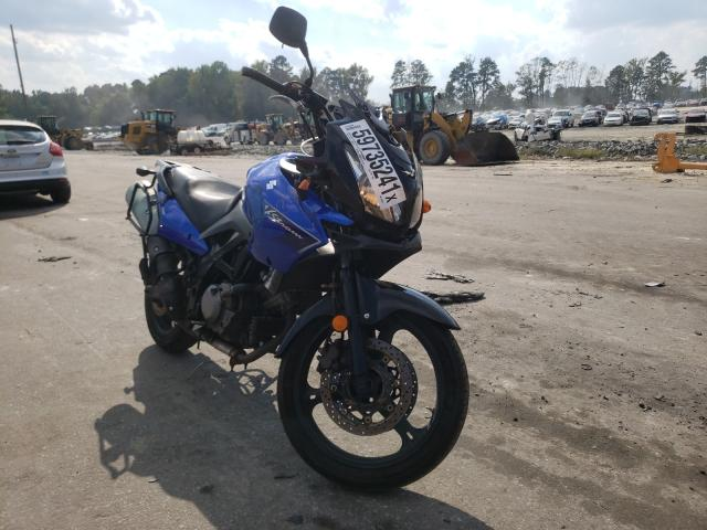 Salvage cars for sale from Copart Dunn, NC: 2007 Suzuki DL650