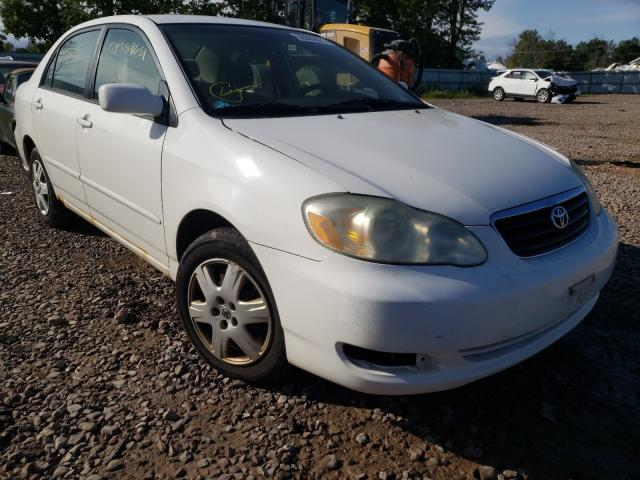 Salvage cars for sale from Copart Central Square, NY: 2006 Toyota Corolla CE