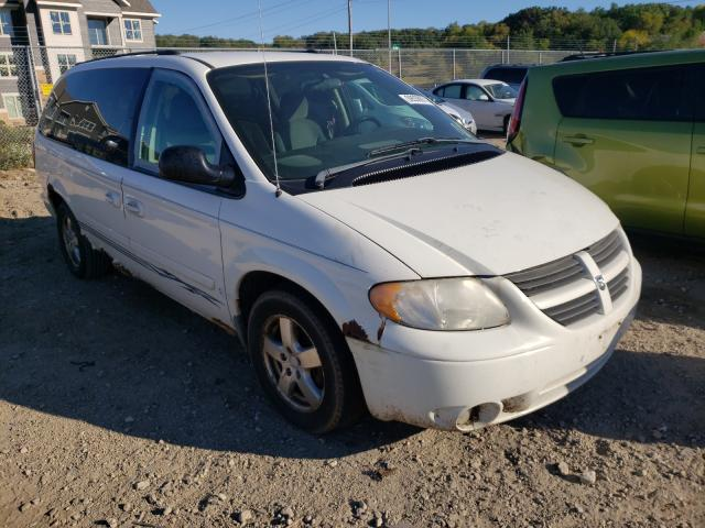 Salvage cars for sale from Copart Madison, WI: 2005 Dodge Grand Caravan