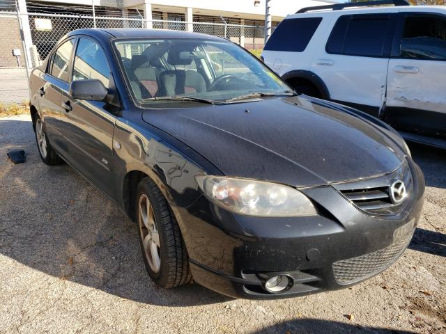 Salvage cars for sale from Copart Wheeling, IL: 2006 Mazda 3 S