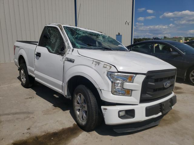 Salvage cars for sale from Copart Apopka, FL: 2016 Ford F150