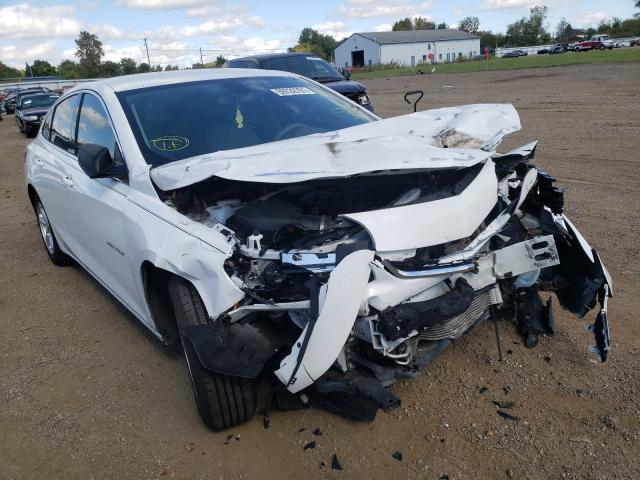 Salvage cars for sale at Columbia Station, OH auction: 2018 Chevrolet Malibu LS