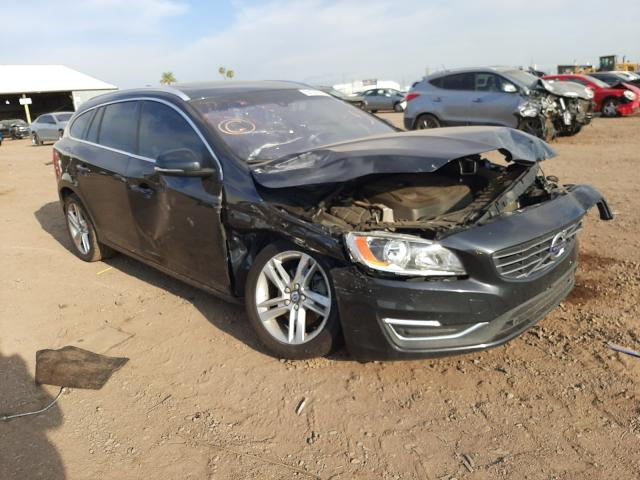 Salvage cars for sale at Phoenix, AZ auction: 2015 Volvo V60 Premium