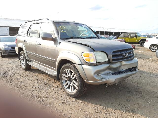 Salvage cars for sale from Copart Phoenix, AZ: 2004 Toyota Sequoia SR