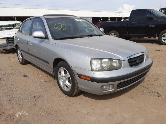 Salvage cars for sale from Copart Phoenix, AZ: 2002 Hyundai Elantra GL