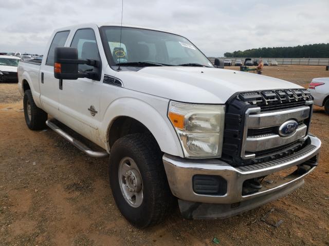 Salvage cars for sale from Copart Longview, TX: 2011 Ford F250 Super