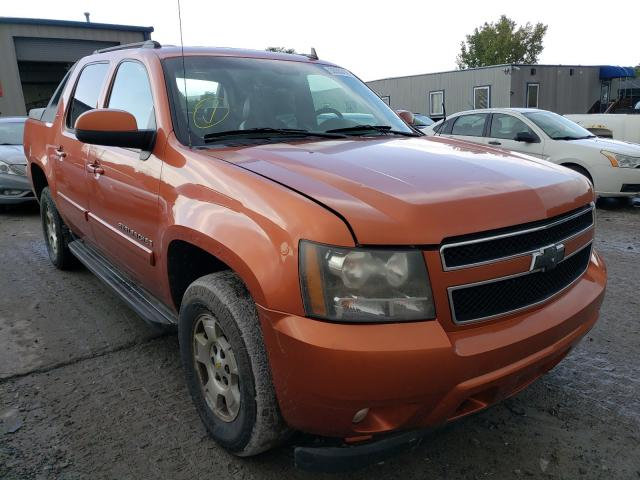Salvage cars for sale from Copart Duryea, PA: 2008 Chevrolet Avalanche
