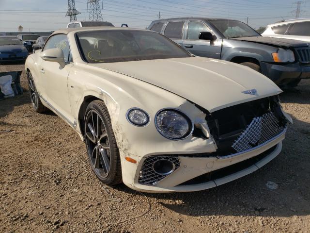 Bentley salvage cars for sale: 2020 Bentley Continental