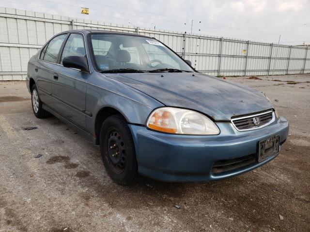 Honda Civic salvage cars for sale: 1998 Honda Civic