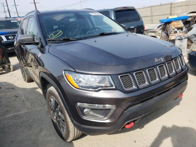 Vehiculos salvage en venta de Copart Los Angeles, CA: 2019 Jeep Compass TR